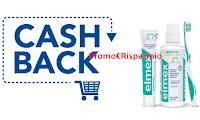 Logo ''Cashback con Elmex e Meridol'': acquista 2 prodotti e 1 te lo rimborsano