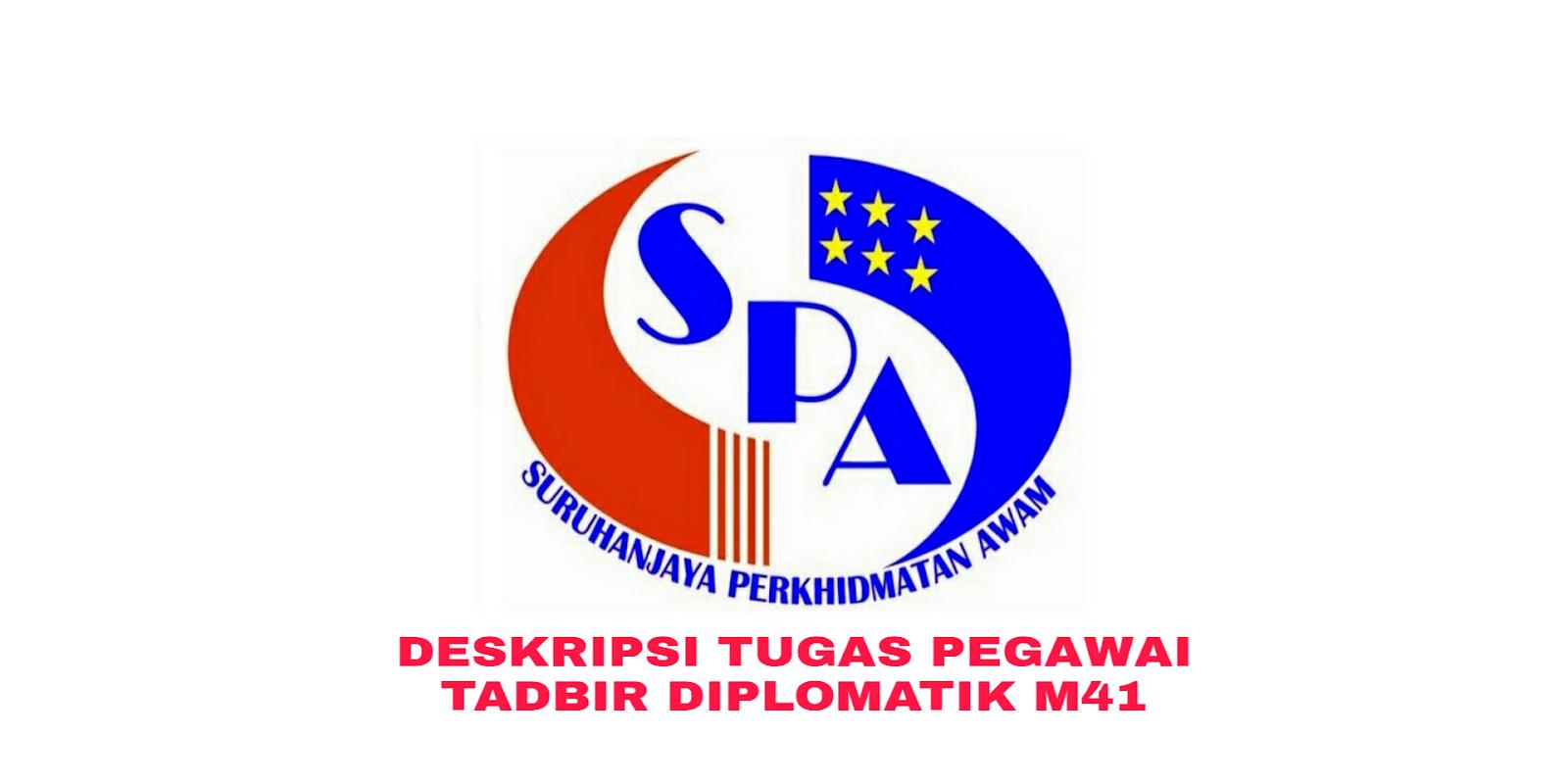 Deskripsi Tugas Gaji Dan Kelayakan Pegawai Tadbir Dan Diplomatik Gred M41 Sumber Kerjaya