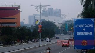 Jerebu: Tiga daerah di Negeri Sembilan catat IPU tidak sihat