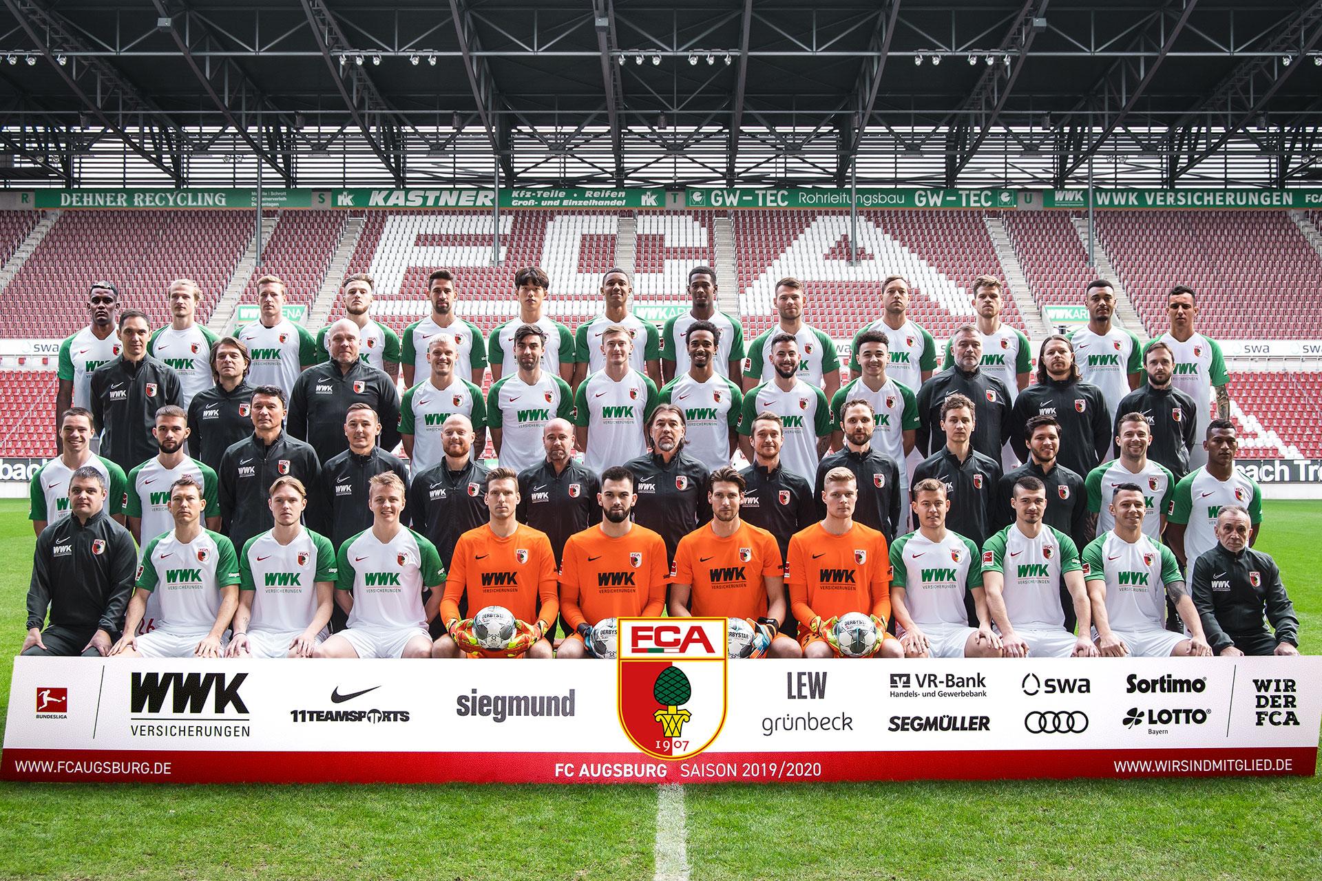 Jadwal Skuad Augsburg 2020