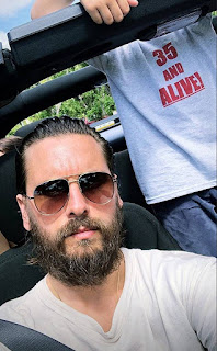Sofia Richie Gives Scott Disick Love on His 35th Birthday During St. Barth's Vacation