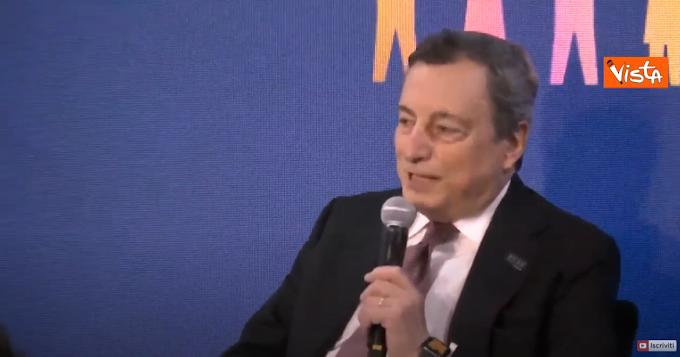 """Draghi: """"Riapriamo, ma in sicurezza"""""""