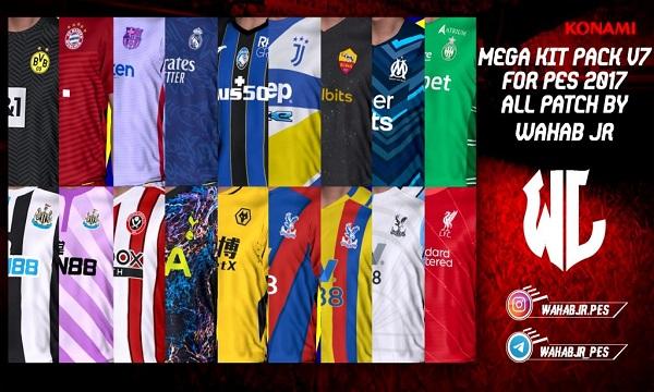 PES 2017 Mega Kit Pack v7 Season 2021-22
