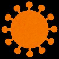 コロナウイルスの変異株のイラスト5