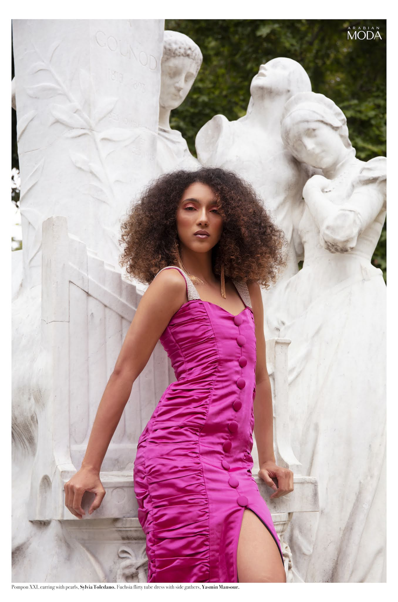 Arabian Moda x Yasmin Mansour x Sylvia Toledano