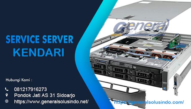 Service Server Kendari Resmi dan Profesional