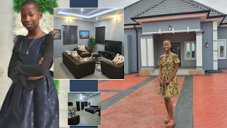 Little Emmanuella of mark angel comedy builds mother a beautiful house
