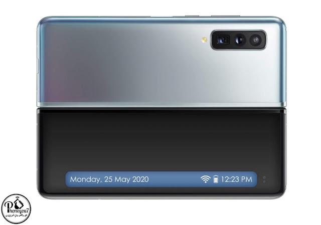 سيأتي Samsung Galaxy Fold 2 بشاشة اشعارات امامية طويلة ومقاومة للماء