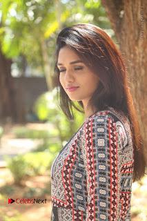 Actress Sunaina Latest Stills in Floral Dress at Pelliki Mundu Prema Katha Trailer Launch  0025.JPG