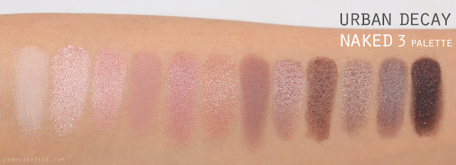 Naked3 Eyeshadow Palette by Urban Decay #15