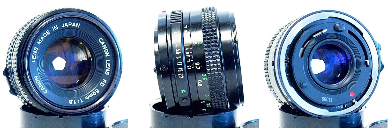 Canon FDn 50mm 1:1.8 #750