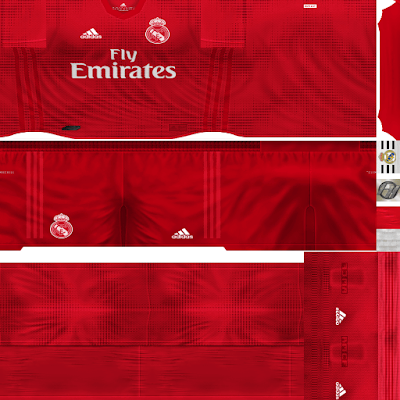 PES 6 Kits Real Madrid Season 2018/2019 by FacaA/Ngel