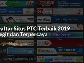 Situs PTC Terbaik 2019 Legit Terpercaya - Responsive Blogger Template