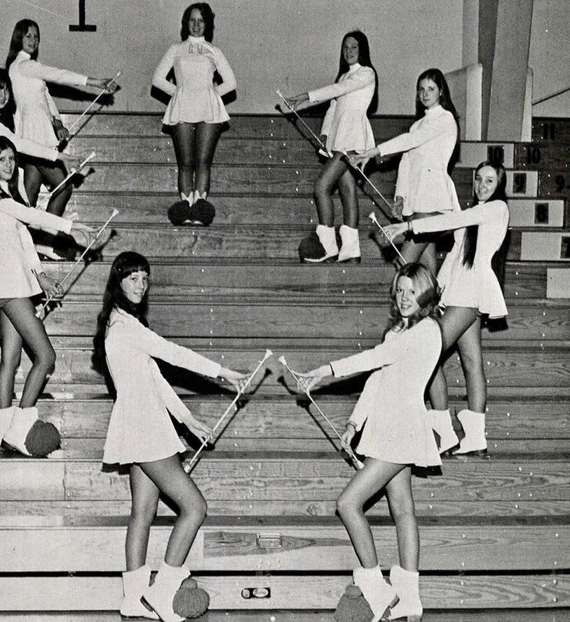 Retrospace: Mini Skirt Monday #175: Majorettes