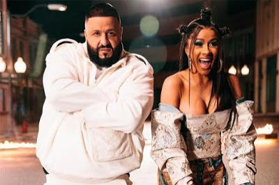 Cardi B and DJ Khaled