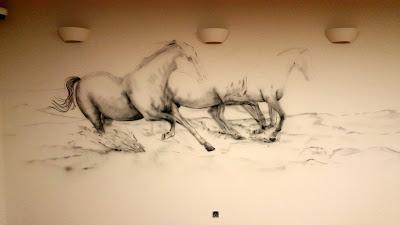 Konie  w galopie, malowani obrazu, motyw koni, konie w galopie reprodukcja
