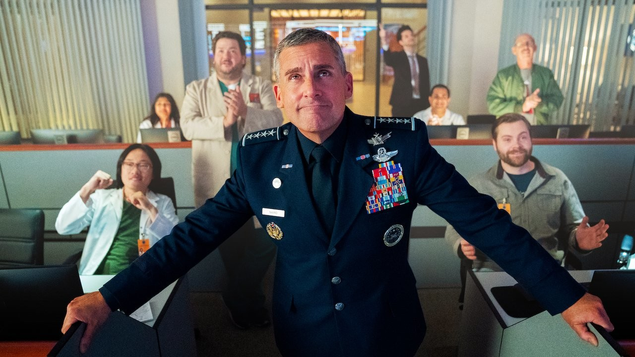 Steve Carell protagoniza Space Force