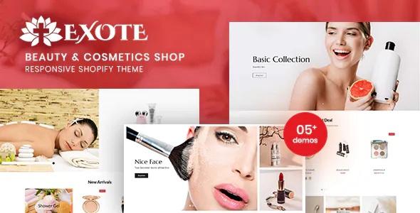 Best Beauty & Cosmetics Shop Responsive Shopify Theme