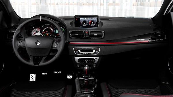 Interior Renault Megane III RS 265