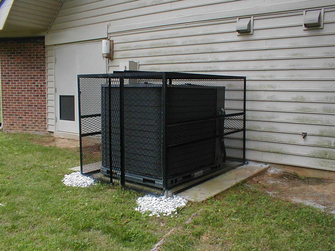 air conditioner cage one wire alternator wiring diagram mopar black metal design build the roll hinged hvac