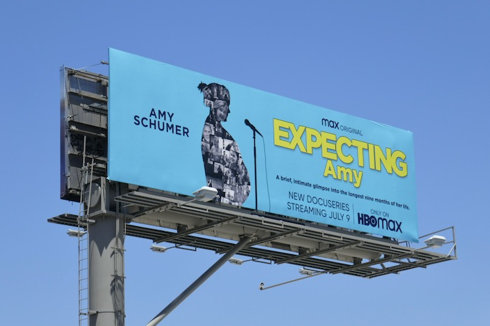 Expecting Amy HBO Max billboard