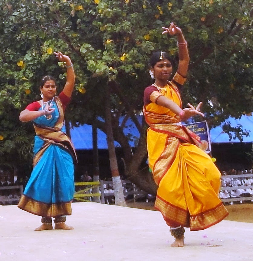 SSMHSS School conducts Bharatanatyam classes:  harmonizing mind and body.