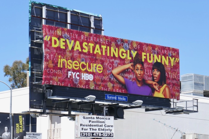 Insecure season 3 Emmy FYC billboard