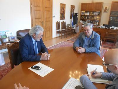 Επίσκεψη στην Περιφέρεια της Ηπείρου του Επιτρόπου της Ε.Ε. Χρήστου Στυλιανίδη