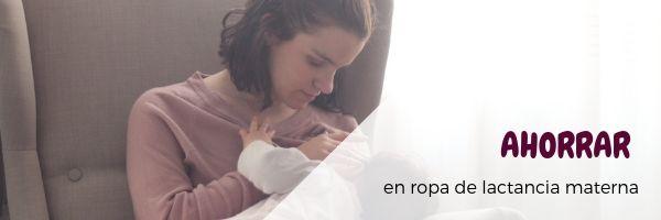 Ahorra en ropa de lactancia materna