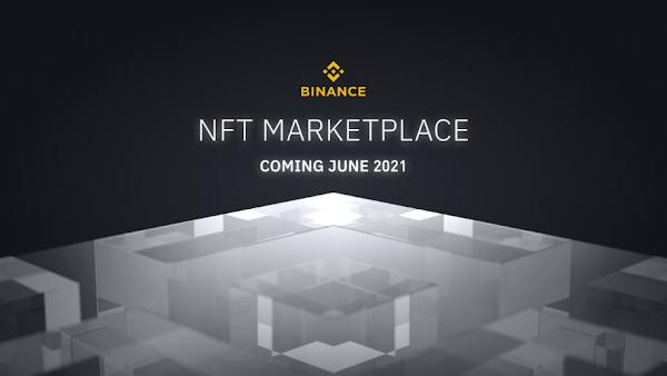Binance anuncia o lançamento de marketplace de NFTs