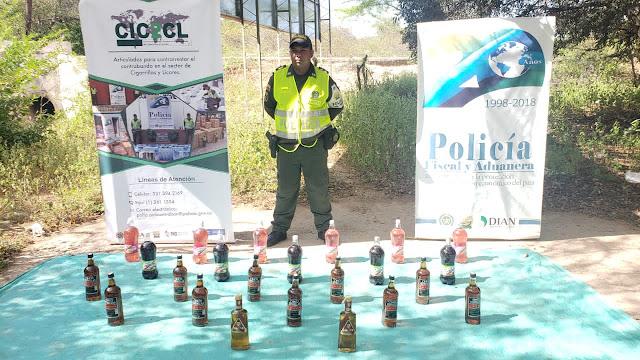 Polfa decomisó más de $26 millones en mercancía, en diferentes vías de La Guajira