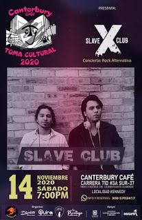 Concierto SLAVE CLUB