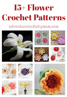 15+ Flower Crochet Patterns