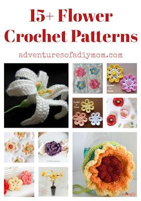 15+ Flower Crochet Patterns