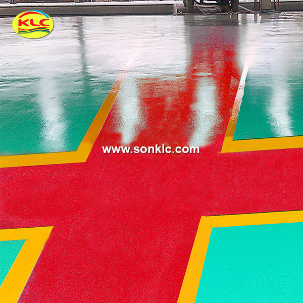 What is epoxy paint for concrete ?