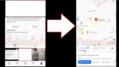 Cara Menambahkan Link Lokasi di Bio Instagram