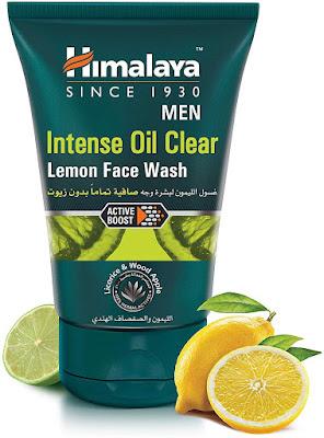 Pencuci muka himalaya Men Intense Oil Clear Lemon Face Wash