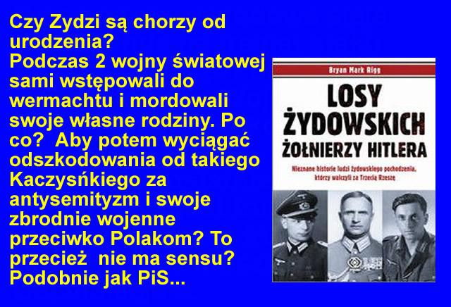 Żydzi w Wermachcie Zydzi zbrodnie przeciwko Polsce i Polakom