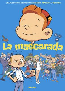 La mascarada, una nueva aventura de Spirou
