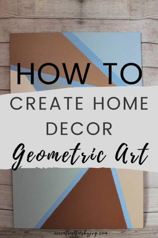 Easy DIY Geometric Art