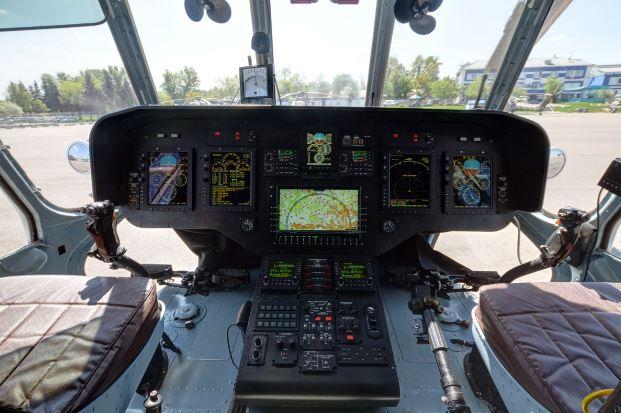 Mil Mi-171A2 cockpit