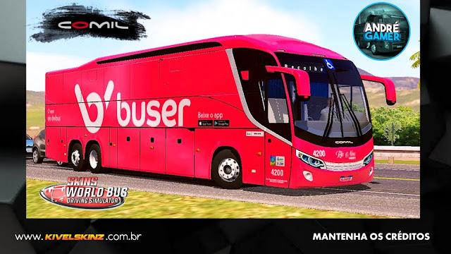 COMIL 1200 6X2 - VIAÇÃO BUSER