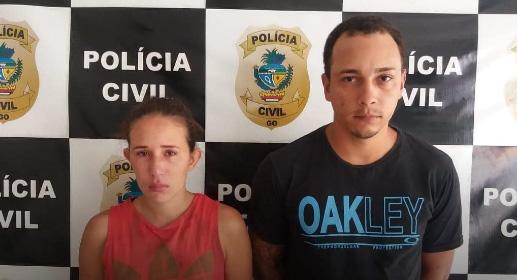 Goiatuba: Casal é preso por tráfico; mulher já foi detida duas vezes este ano pelo mesmo crime