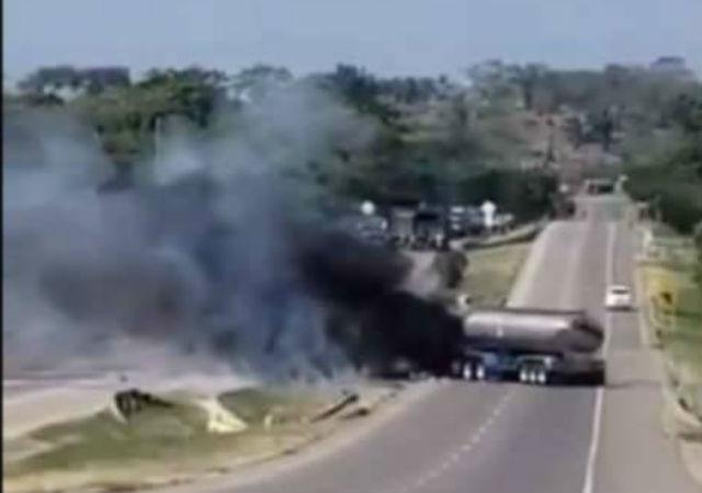 Ejército y Policía adelantan 'Caravanas por la Vida' entre Aguachica y Bosconia