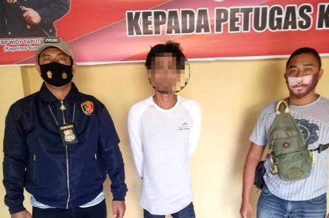 Kerap mabuk dan aniaya istri, Baim ditangkap Polisi