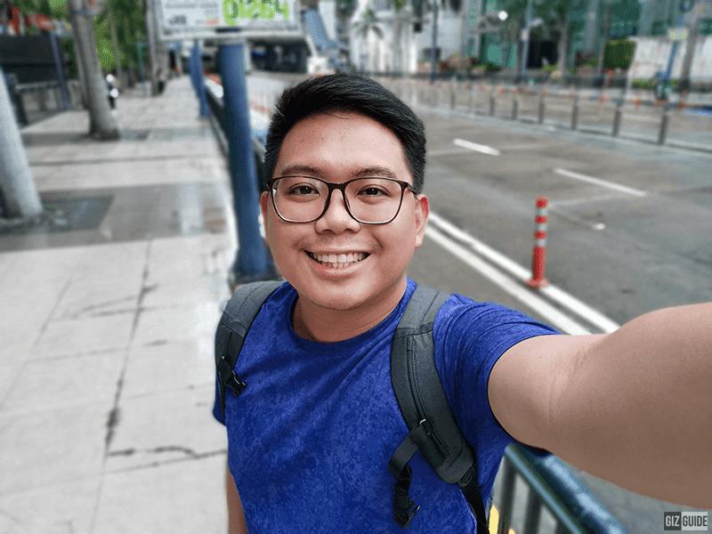 Selfie bokeh