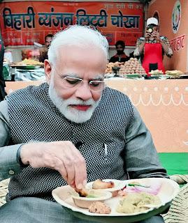 Litti chokha PM Modi
