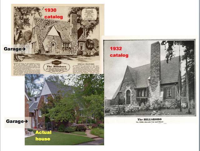 comparison of three photos of sears hillsboro