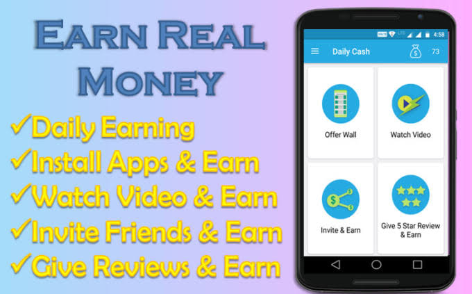 2019 Top Three Most Profitable Or Important Earning Application, PickPock, Earning Application,