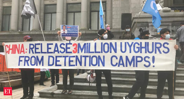 China against Uyghur people in Xinjiang province